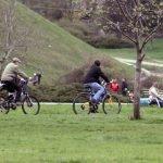 biking Volkspark Friedrichshain